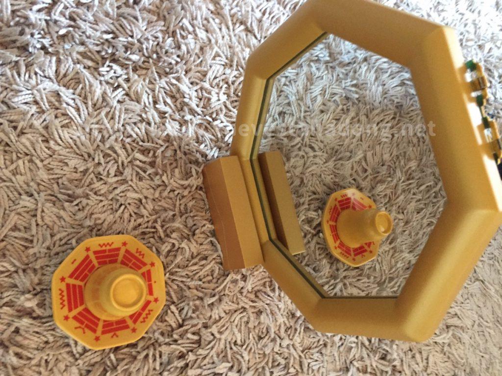 水晶院ラッキーショップ六角鏡